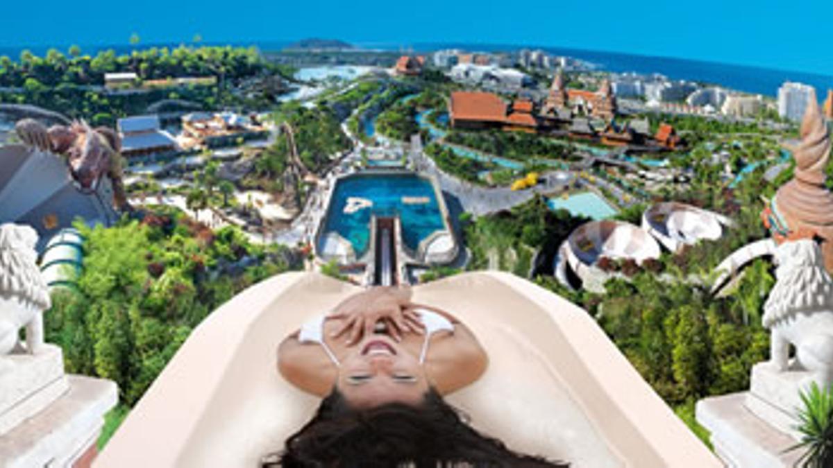 Una de las atracciones de Siam Park