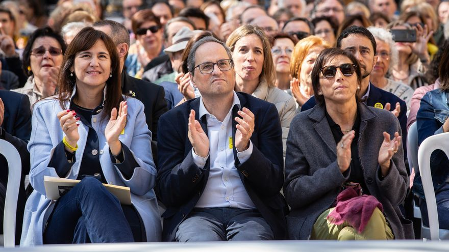 Torra advierte de que el PSOE está dispuesto a volver a aplicar el 155