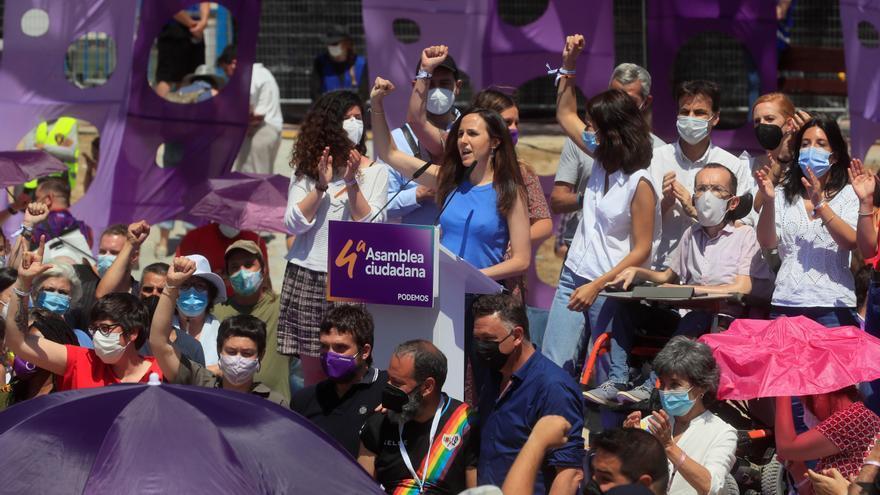 "Belarra pide a Podemos ""soñar"" con un futuro mejor frente al odio de Colón"
