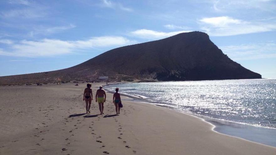 Playa de La Tejita, en la costa de Granadilla de Abona / Foto de La Tejita en Facebook