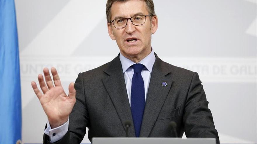 """Feijóo reclama """"justicia y trato ecuánime"""" para Galicia y rechaza los privilegios"""