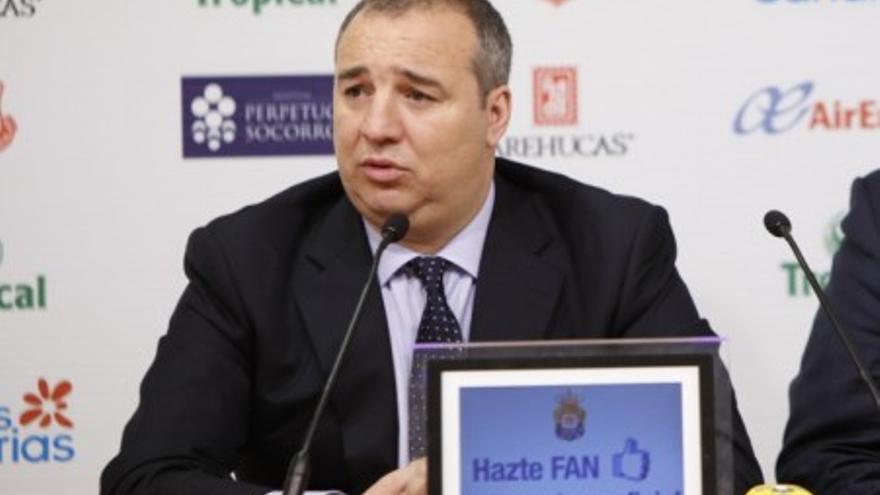 Miguel Ángel Ramírez en una imagen de archivo (udlaspalmas.es).