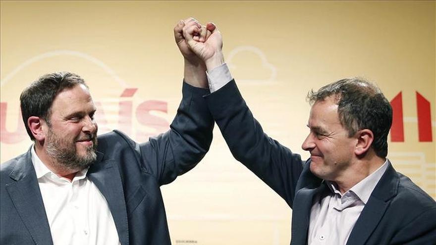 Junqueras subraya que el soberanismo sale reforzado de las elecciones del 24M