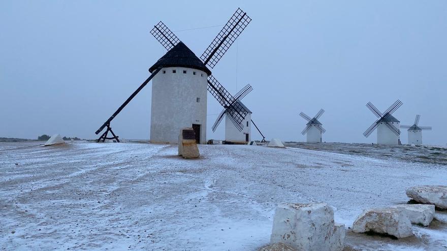 Nieve en la región