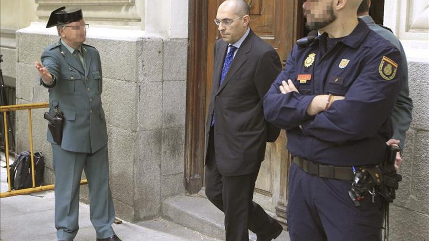 El Juez Elpidio José  Silva comparece hoy como imputado por la filtración de correos de Blesa
