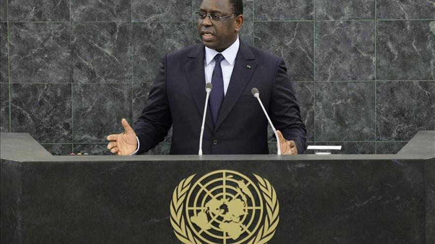 El presidente Macky Sall de Senegal nombró primer ministro a Mohamed Dione