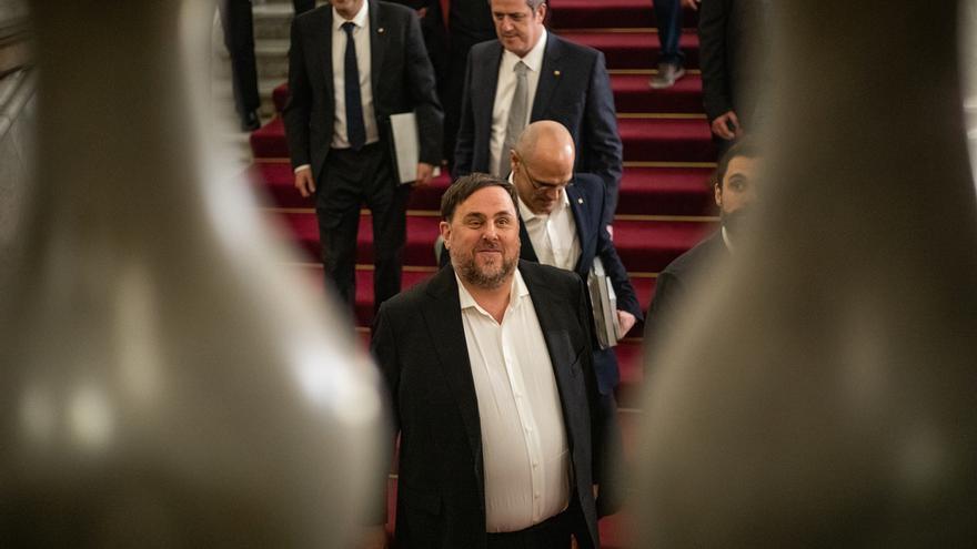 Junqueras recurre al Tribunal General de la UE que Sassoli rechazara proteger su inmunidad