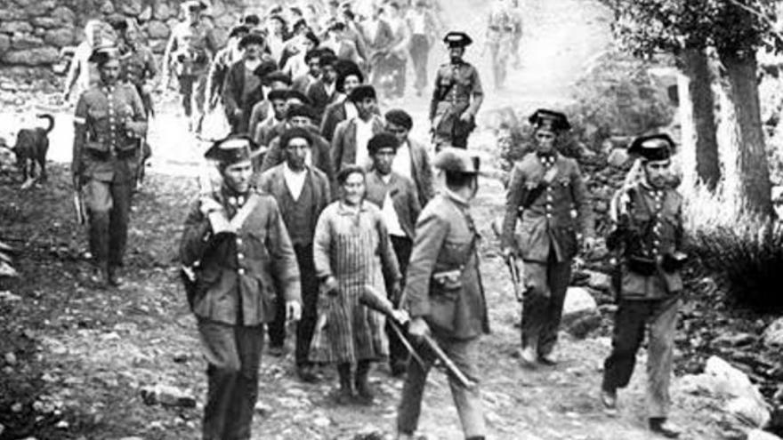 Detención de civiles
