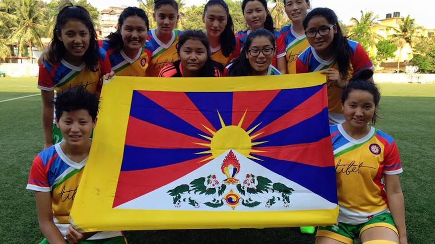 Tibet Women's Soccer es el primer equipo nacional femenino de fútbol del Tíbet / Imagen cedida