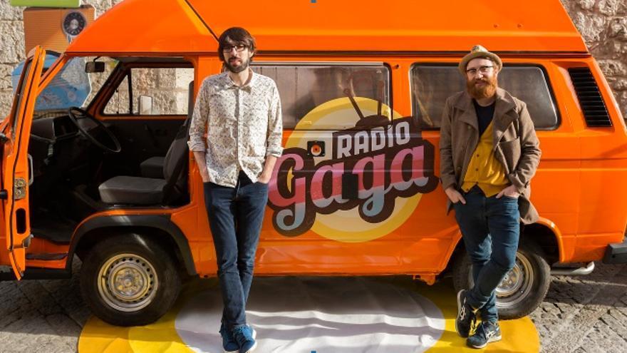Quique Peinado y Manuel Bueque, de Radio Gaga
