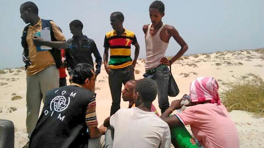 Un centenar de inmigrantes muertos o desaparecidos en 24 horas en el Yemen