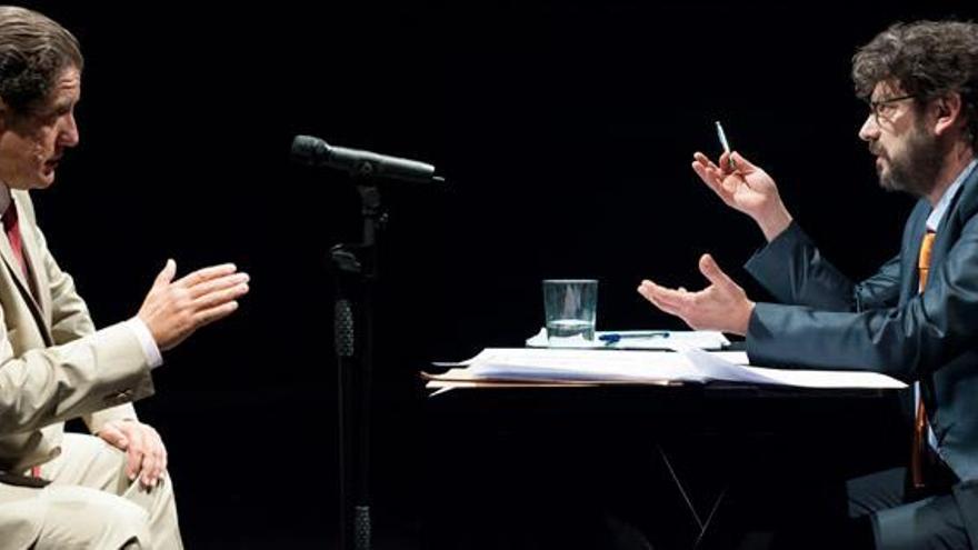 El montaje 'Ruz-Bárcenas', basado en la declaración del extesorero del PP ante el juez, se estrenó el pasado mayo