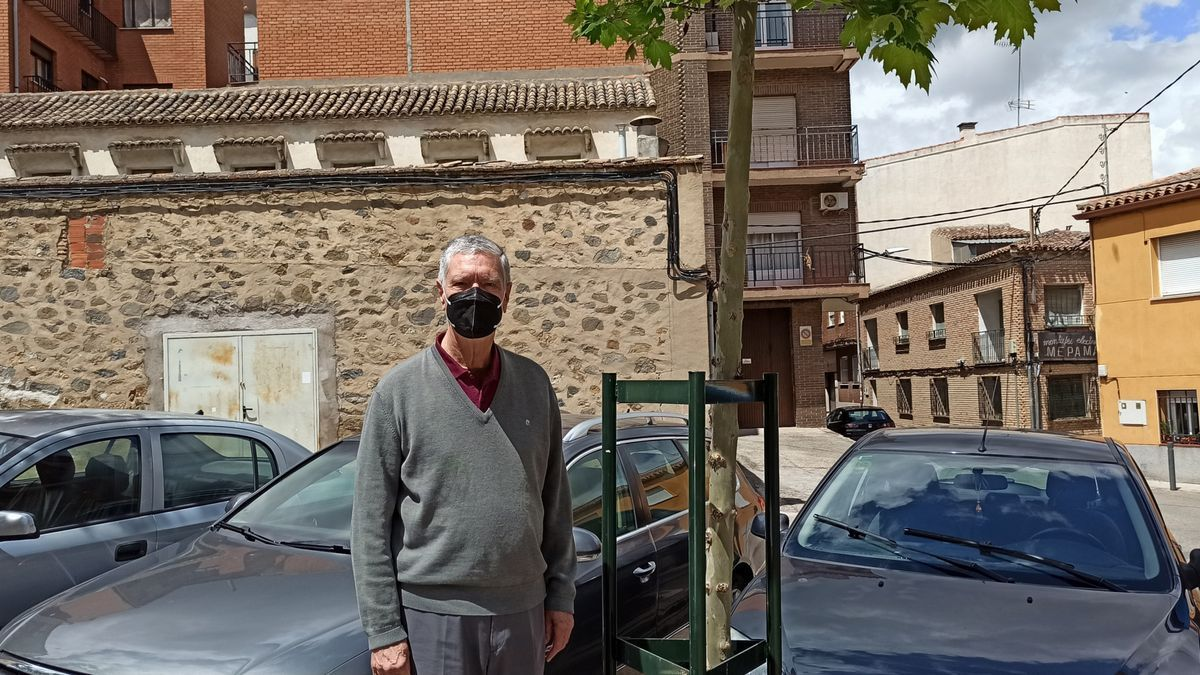 Alberto, venezolano de 76 años residente en Toledo
