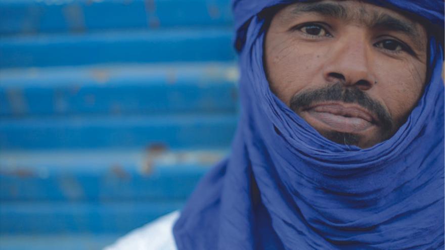 El músico Moussa Sadi