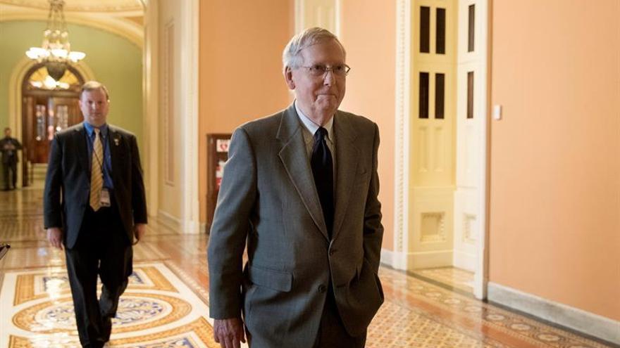 Un líder republicano pide la retirada de un candidato al Senado acusado de abuso sexual
