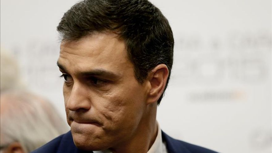 """Sánchez: """"Lo que he hecho es decir lo que piensan millones de españoles"""""""