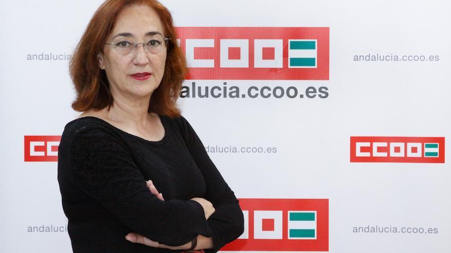La secretaria de Políticas Sociales y Migraciones de CCOO-A, Rosa Berges.