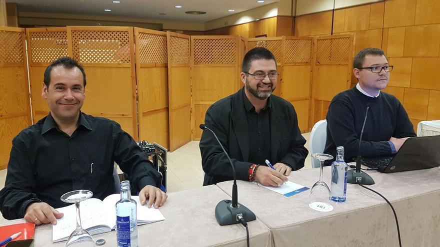 Juan Ramón Crespo, Carlos Sánchez Mato y Pedro Mellado, en Ciudad Real