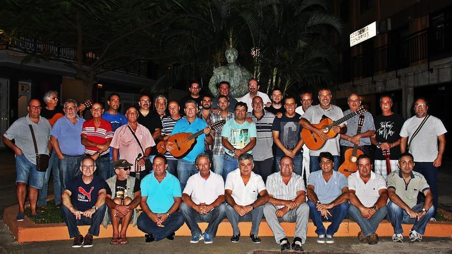 El grupo de 'Amigos de Lo Divino' de La Palma.