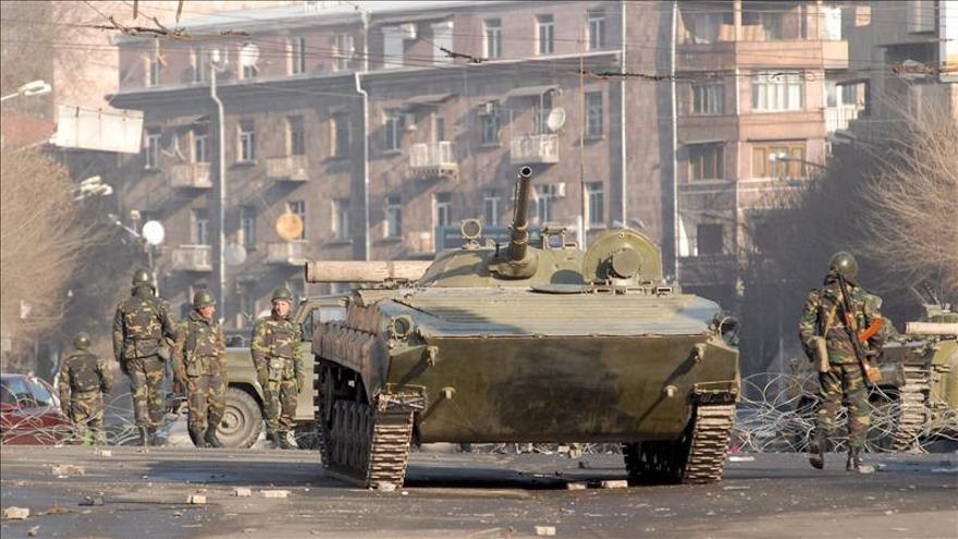 Al menos 18 soldados armenios han muerto en los últimos combates, según Bakú