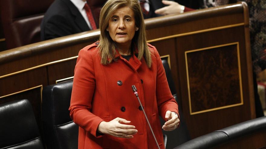 La ministra de Empleo, Fátima Báñez. / Europa Press