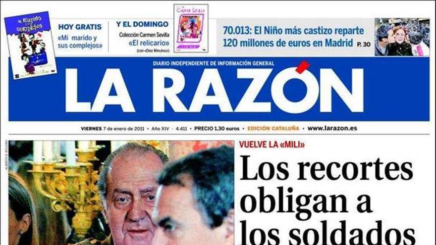 De las portadas del día (07/01/2011) #9