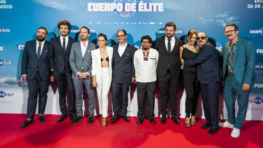 Atresmedia preestrenó en cine su 'Cuerpo de élite' repleto de televisivos