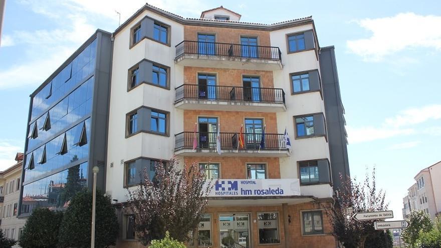 Clínica La Rosaleda, en Santiago de Compostela, pertenciente a HM Hospitales