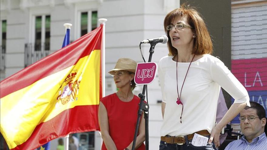 La portavoz de UPyD en el Parlamento Europeo, Maite Pagazaurtundua.