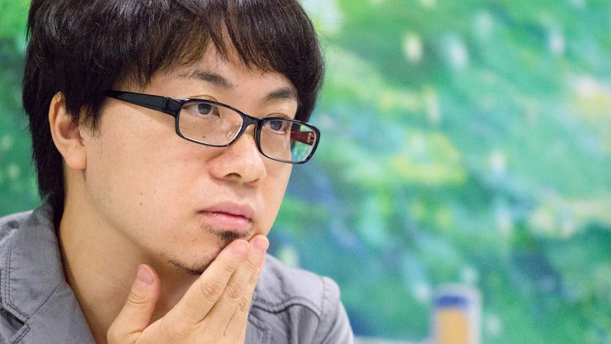 El director Makoto Shinkai