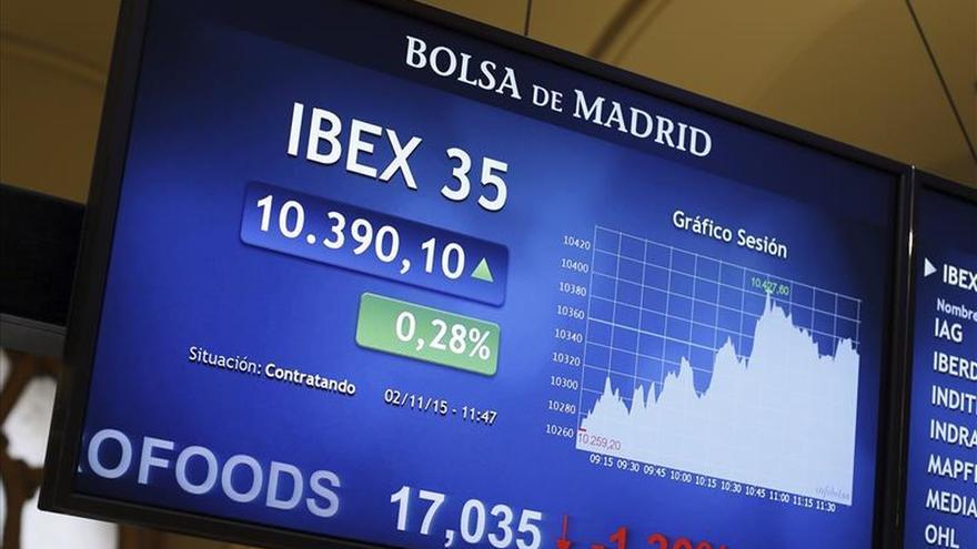 La bolsa española abre con leves pérdidas y el IBEX cede un 0,18 por ciento