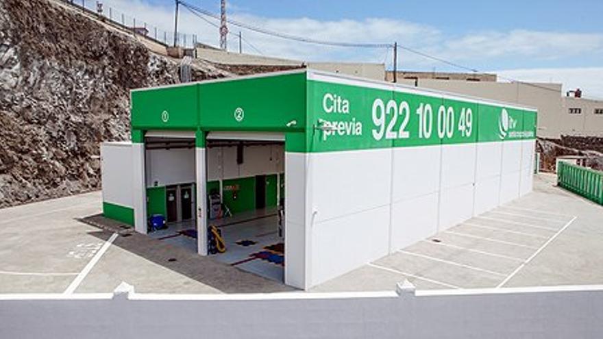 Estación de Inspección Técnica de Vehículos en el Polígono Industrial de Mirca de Santa Cruz de La Palma