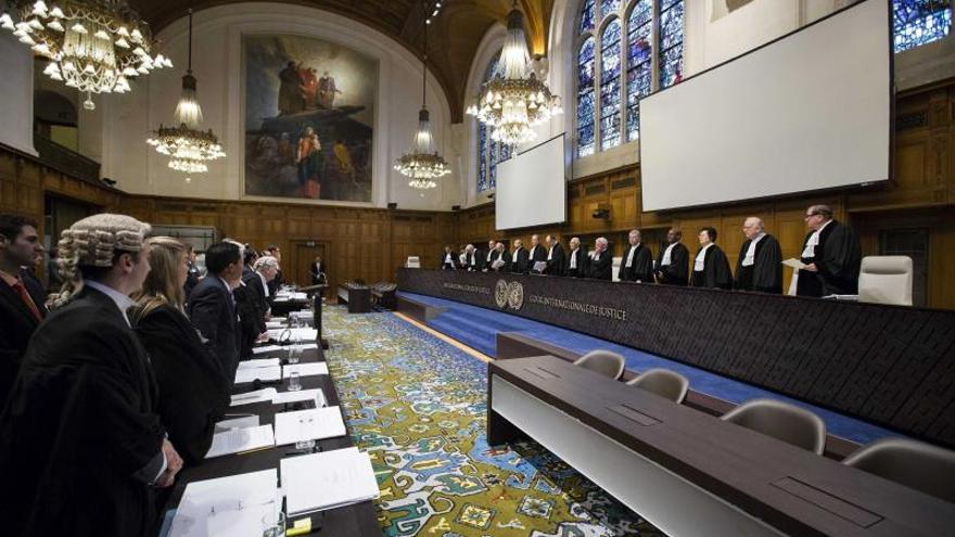 Reunión del Tribunal Internacional de Justicia