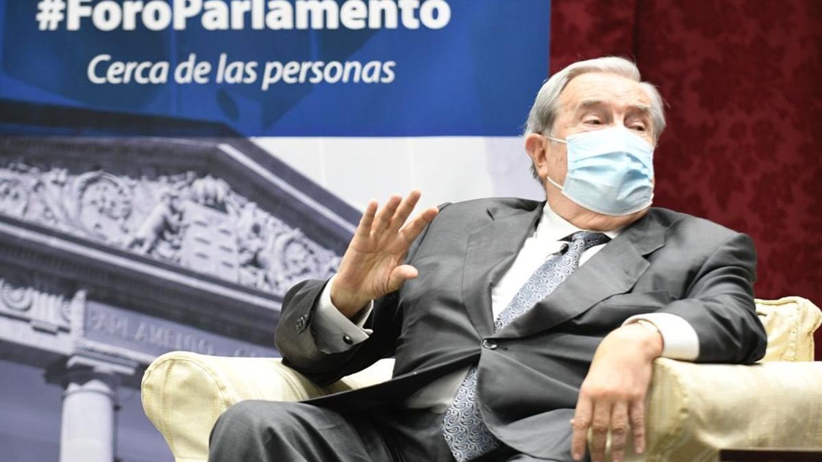 Jerónimo Saavedra, expresidente del Gobierno de Canarias