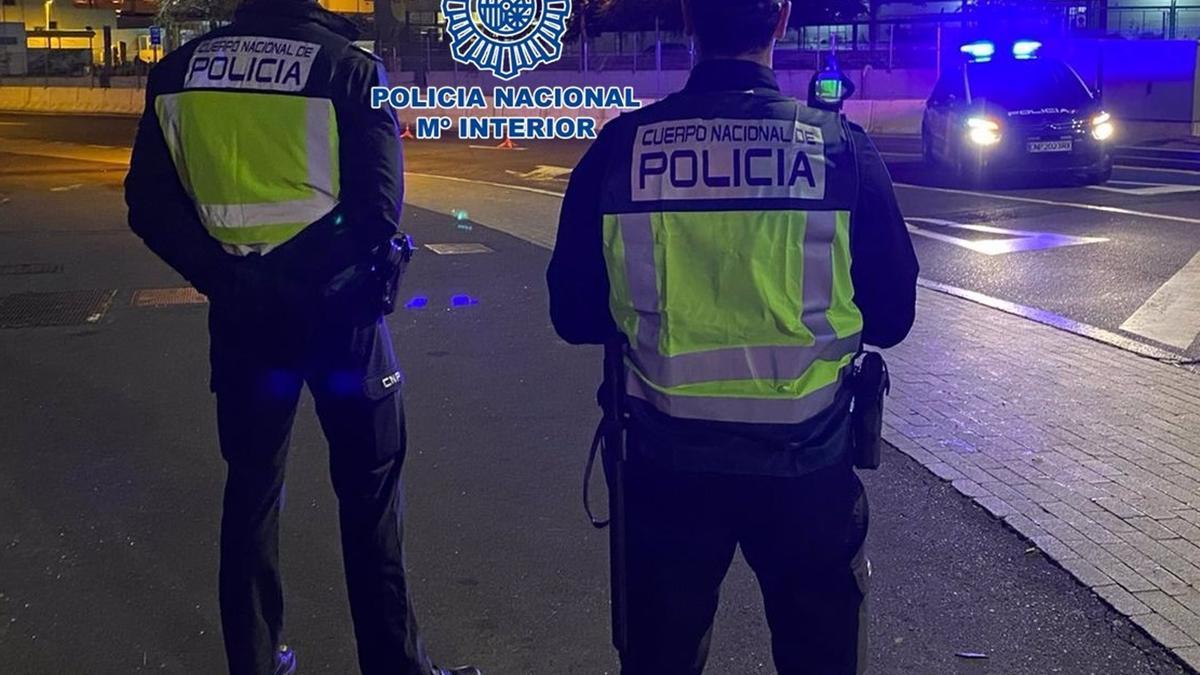 Agentes de la Policía Nacional, en una imagen de archivo.