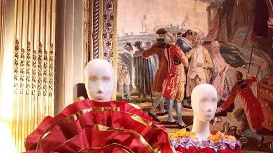 La seda de La Palma en París.