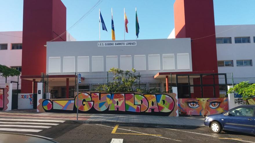 Instituto de Educación Secundaria (IES)  Eusebio Barreto Lorenzo, en Los Llanos de Aridane.