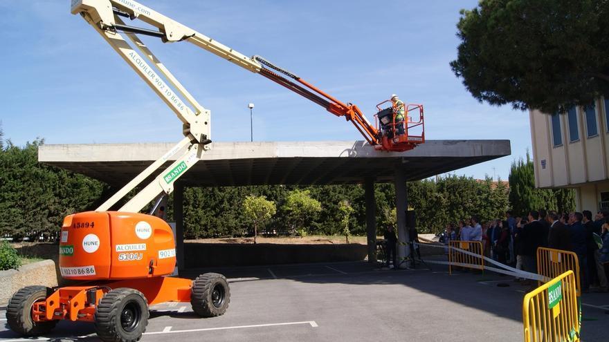 Sando presenta un proyecto para prevenir accidentes laborales en plataformas elevadoras