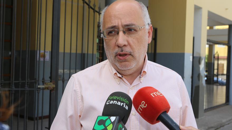 El presidente del Cabildo de Gran Canaria, Antonio Morales (ALEJANDRO RAMOS)