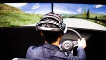 Nissan ha mostrado en el CES su sistema 'brain-to-vehicle', que cuenta con tecnología española