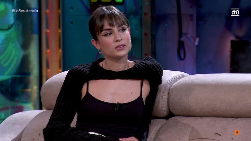 Natalia Lacunza, en 'La Resistencia'