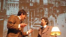 Representación de la obra 'Pereda-Galdós. Una conversación' de La Machina Teatro.