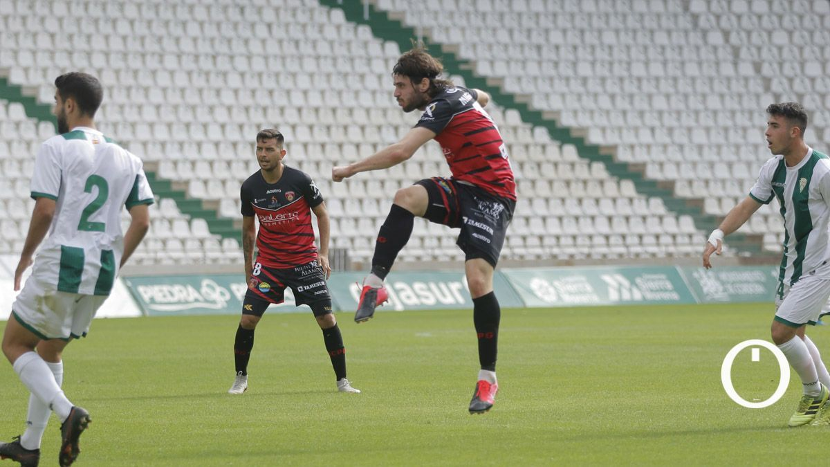 Migue García, con el Salerm en El Arcángel