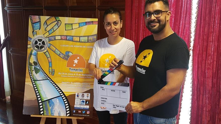 Presentación del cartel del Festival de Cortos Tiempo Sur.
