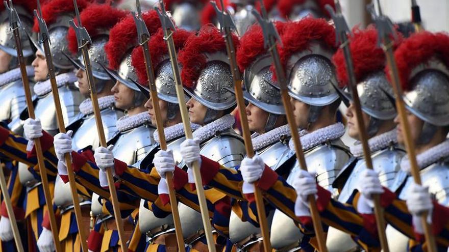 La Guardia suiza del Papa visita por primera vez Jerusalén