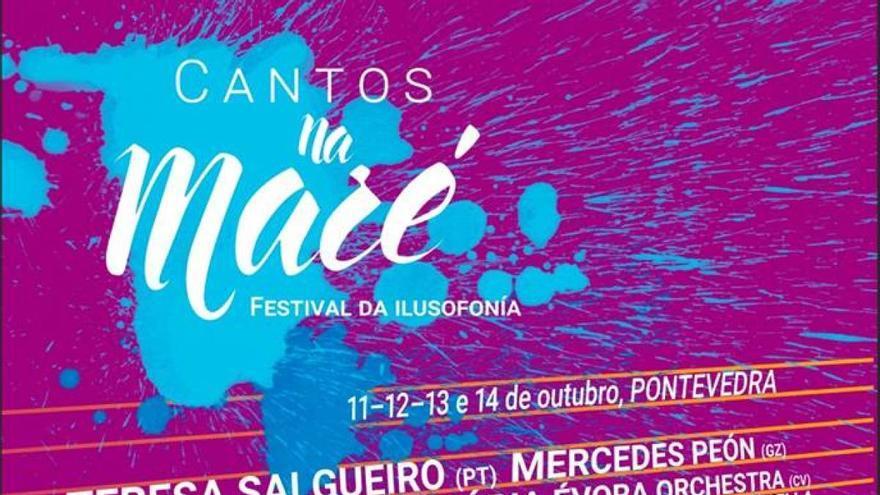 Cartel de Cantos na Maré 2018