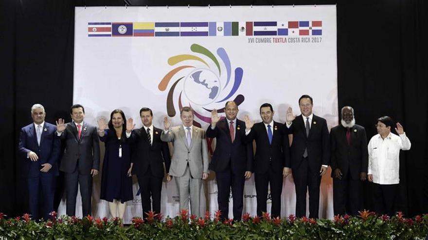 Comienza cumbre presidencial Mesoamericana para tratar temas de cooperación