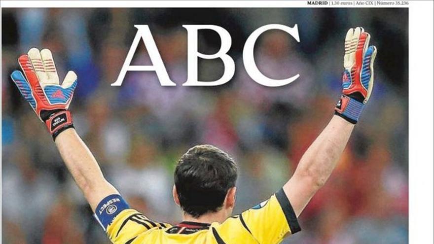 De las portadas del día (19/06/2012) #5