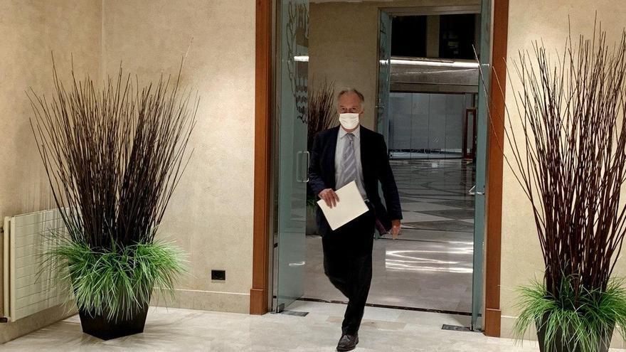 Juan Diego deja la dirección general de Osakidetza después haber estado toda la pandemia en segundo plano