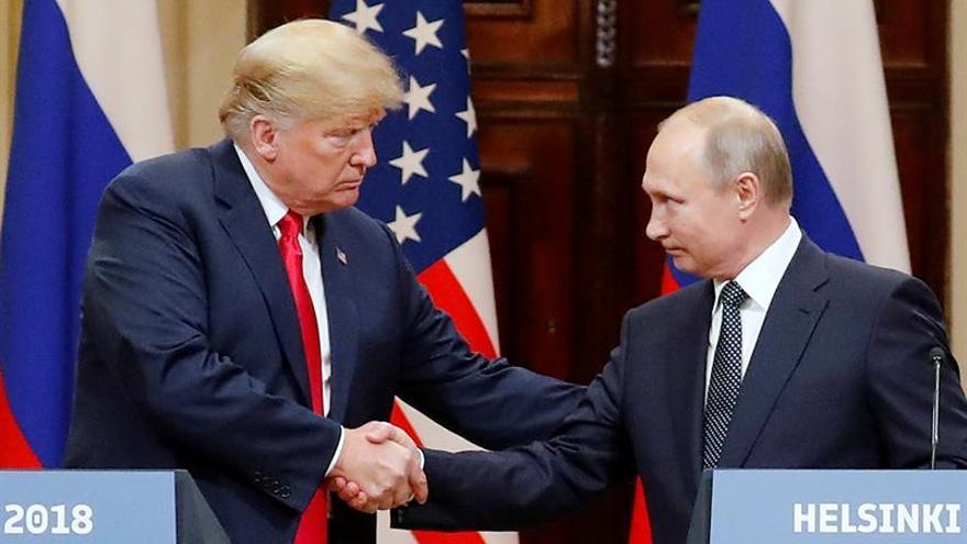 La reunión Trump-Putin no se celebrará hasta que acabe la investigación de la trama rusa